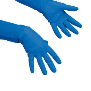 Kesztyű latex Multipurpose kék, M VILEDA - 100156