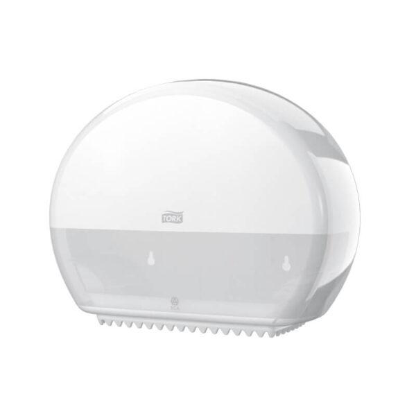 Fali toalettpapír adagoló, Tork mini jumbo T2 555000