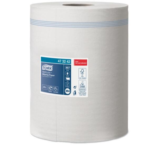 Tork belsőmagos kéztörlő papír reflex m4-473242